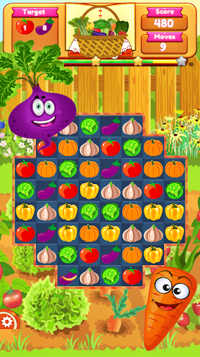 Vegetable Farm Splash Mania screenshot 6