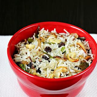 Ghee Fried Rice Recipe | Ghee Rice Recipe | South Indian Veg Ghee Fried Rice Recipe