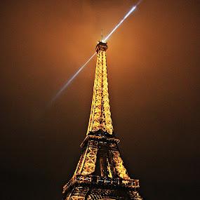 Night Beauty..!!! by Anshul Sukhwal - Travel Locations Landmarks ( paris, tower, anshul sukhwal., photograph, sukhwal, eiffel, france, photography, anshul )