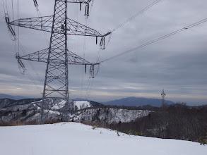 鉄塔から西側を見る