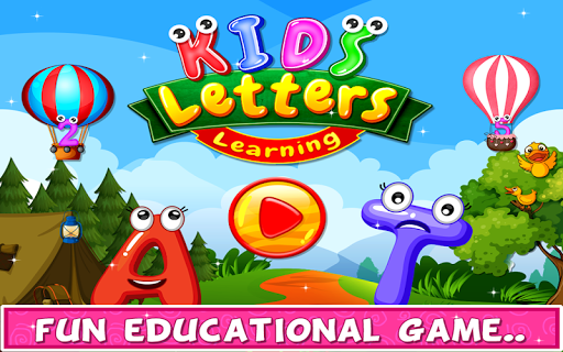 Kids Letters Learning - Educational Game for Kids 1.0 screenshots 1