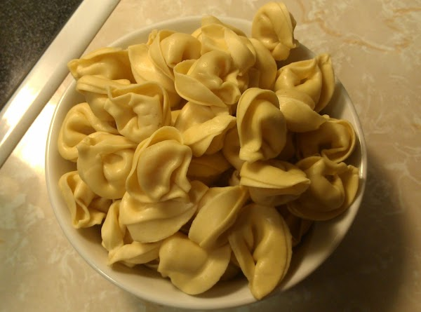 Add tortellini and cook until tender, about 6 minutes.