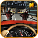 Zombie Road Squad: Car War 3D icon