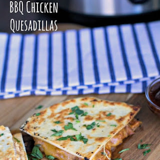Slow Cooker Barbecue Chicken Quesadillas
