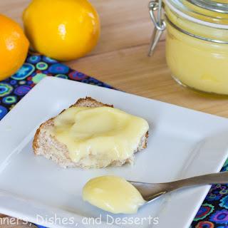 Meyer Lemon Curd.