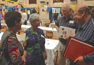Photo: Miriam Briggs ( nee Deston), Agnes Kainer-Geyer( the organiser & convener),David Layman & Ian Groden