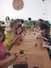 Photo: Zamiast sjesty – zajęcia ceramiczne.