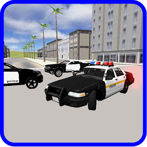 Jumping Police Car Games