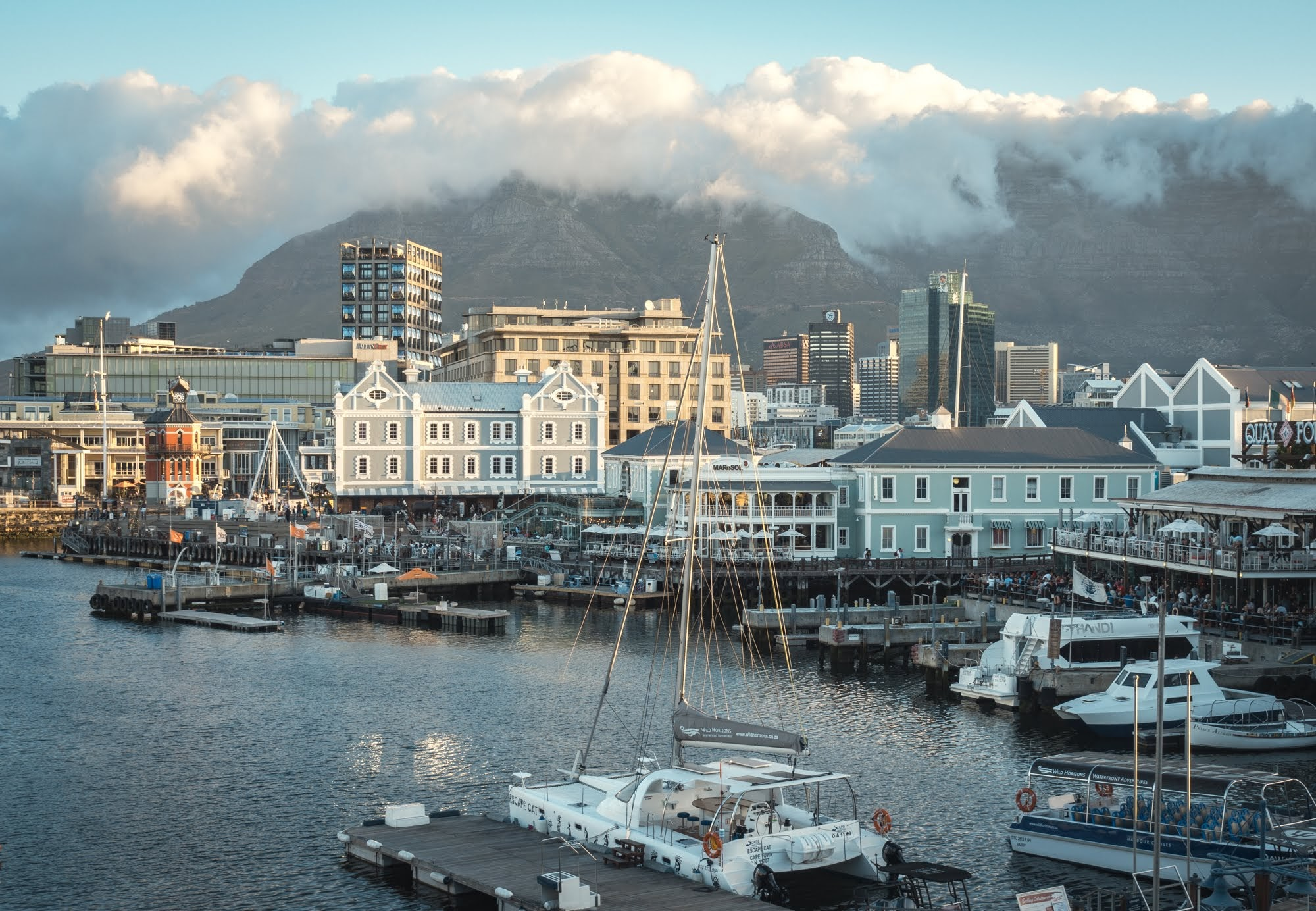 V&A Waterfront in Cape Town.