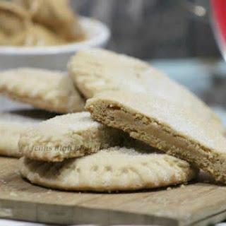 Peanut Butter Filled Peanut Butter Cookies.