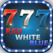 Red White Blue 777 Slot Machine