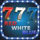 Red White Blue 777 Slot Machine icon