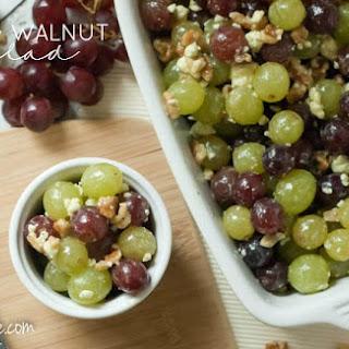 Super Simple Grape & Walnut Salad