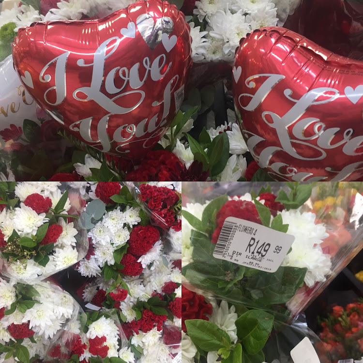 Spar's Valentine's options.