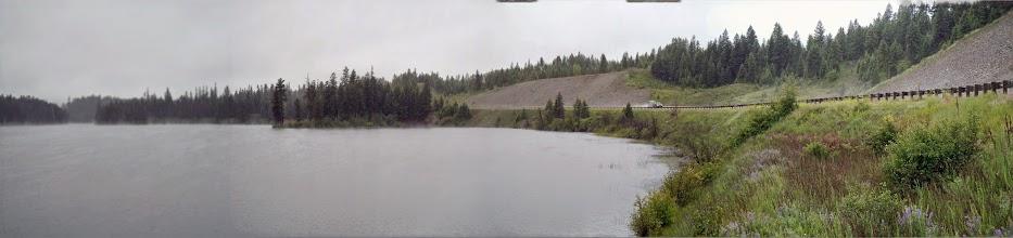 Photo: Panorama at Loon Lake