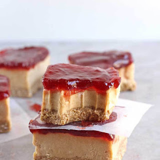 Vegan PB&J Bars