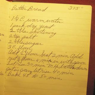 Batter Bread – A 1940s
