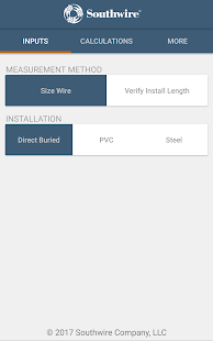 Southwire pump cable calc apps on google play screenshot image greentooth Images