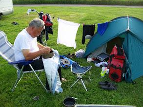 Photo: 1e Dag, donderdag 16 juli 2009 Duiven - Meerbush ,Dag afstand: 105 Totaal gereden : 106 km. De eerste overnachting. Meerbusch (bij Dusseldorf)