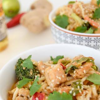 Fish Coconut Noodle Bowls