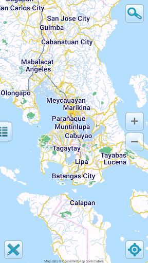 Map of Philippines offline screenshots 1
