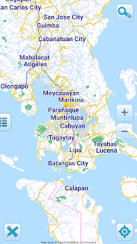 Map of Philippines offline