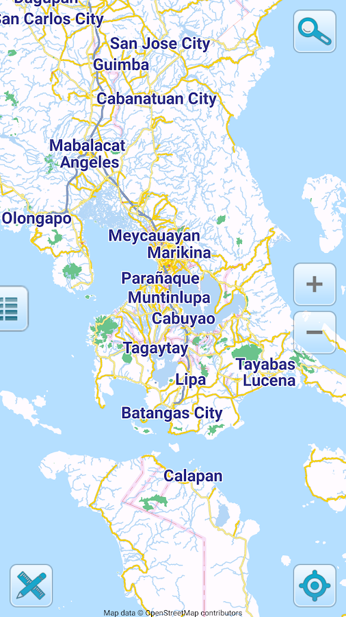 Map Of Philippines Offline Android Apps On Google Play - Maps of the philippines