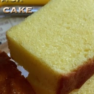 No-Crack Butter Pound Cake