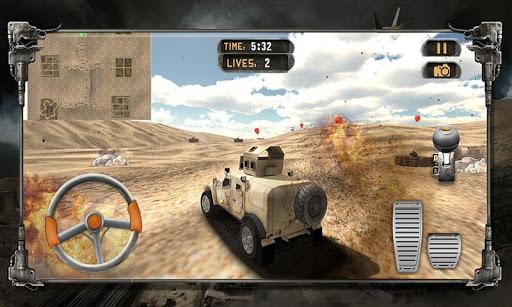 육군 트럭 드라이버 주차 전쟁