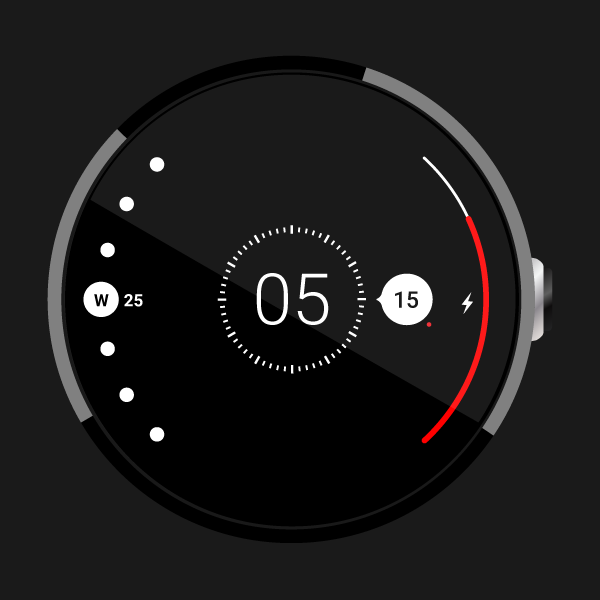 Radii Watch Face for Android Wear