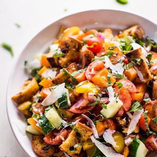 Panzanella (Tuscan Tomato and Bread Salad).