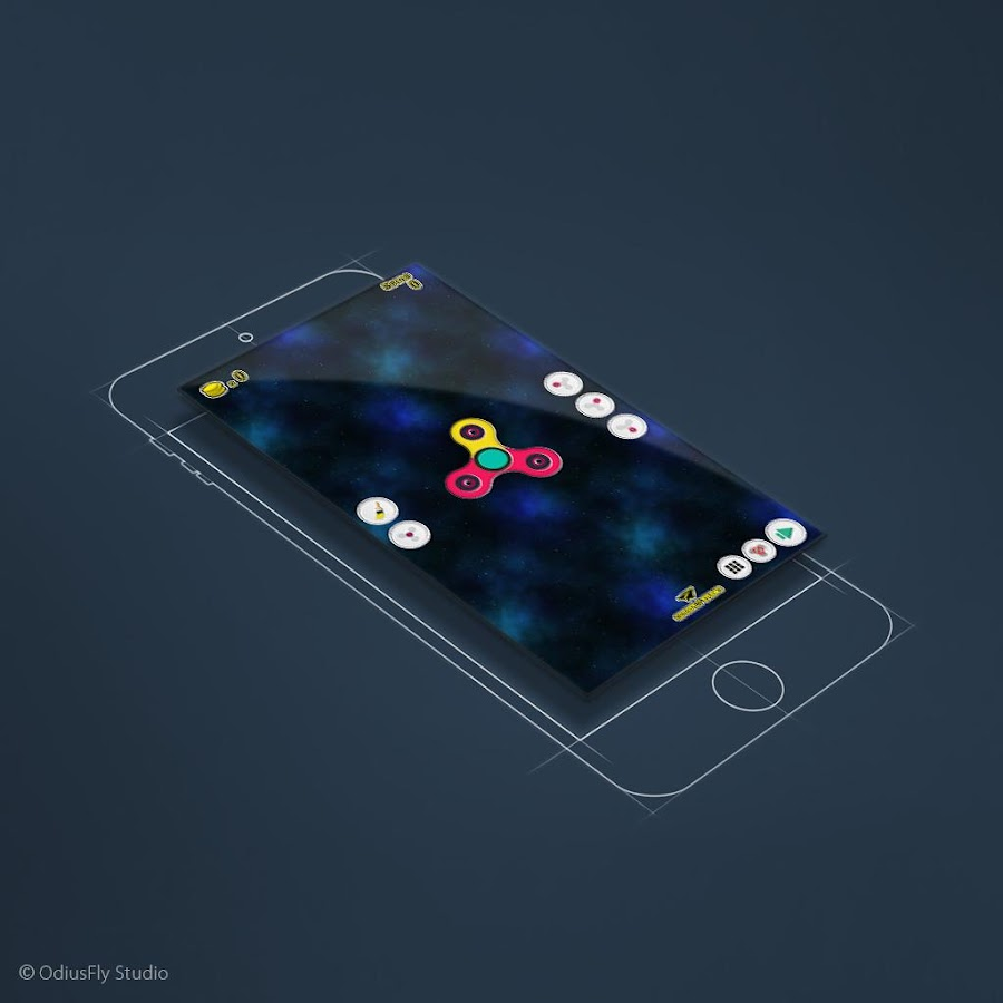 Fidget Spinner Creator - στιγμιότυπο οθόνης