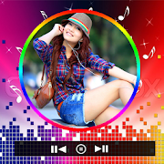 My Photo On Music Player