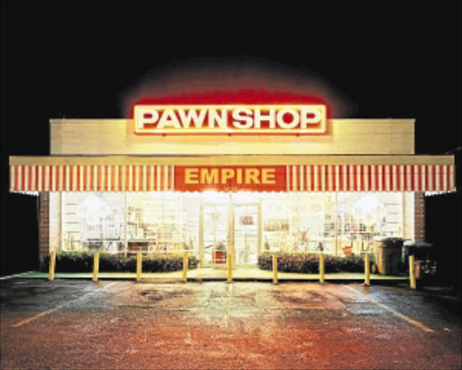 BAD OPTION: Pawnshops are also a form of rarely friendly loan transactions.