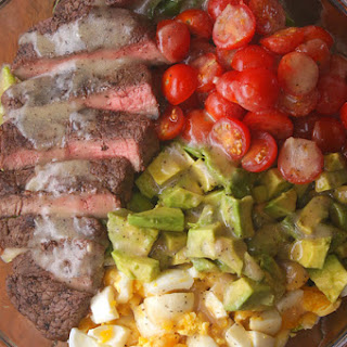 4. Steak and Avocado Salad