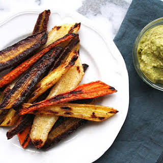 Easy Roasted and Spiced Carrots.