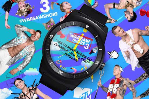 Warsaw Shore Watch Face