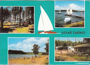 Photo: Velké Dářko pohlednice
