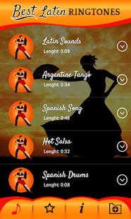 Download Latin ringtones for mobile phones