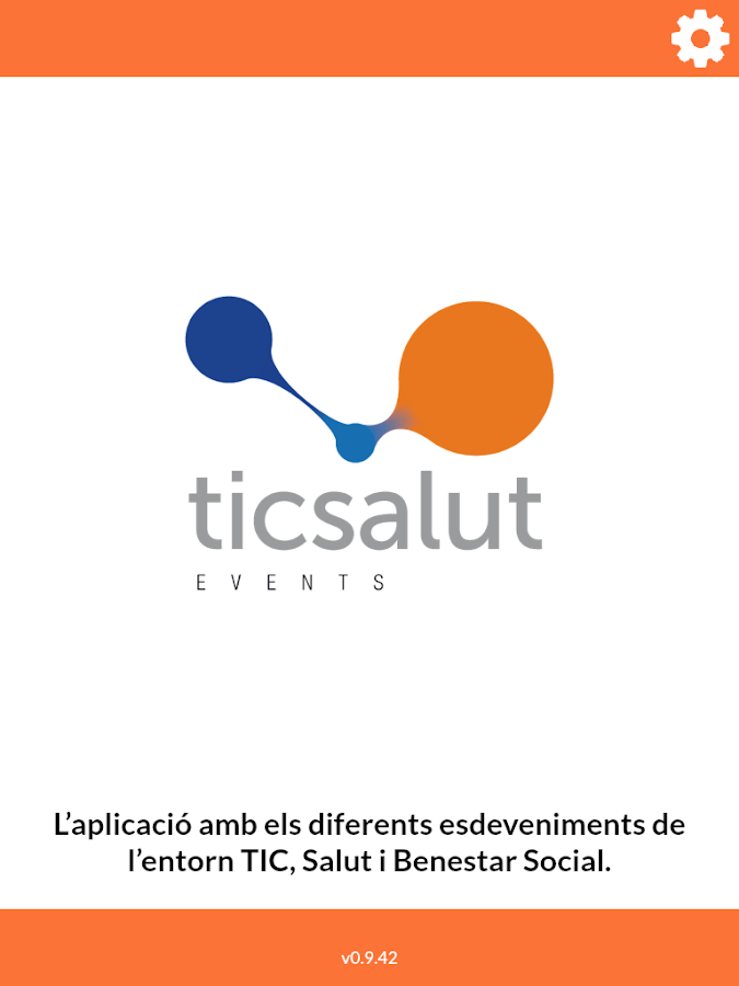 TicSalut's guide for events- screenshot
