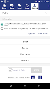 Cloud File Manager- screenshot thumbnail