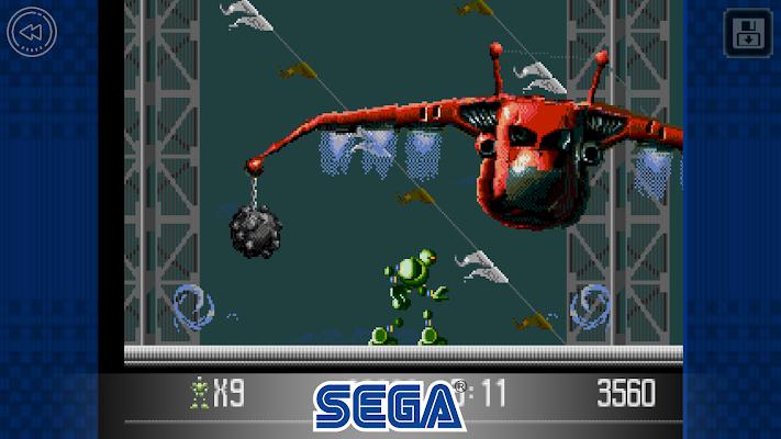 VectorMan Classic Screenshot Image