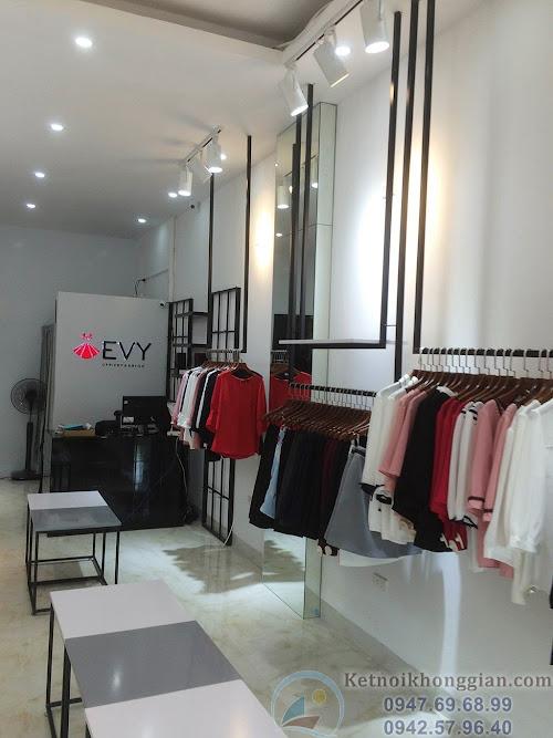thiết kế shop thời trang công sở - thi công shop thời trang ấn tượng