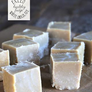Healthy White Chocolate Paleo Fudge Recipe