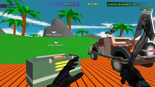 Shooting Combat Swat  Desert Storm Vehicle Wars screenshots 3