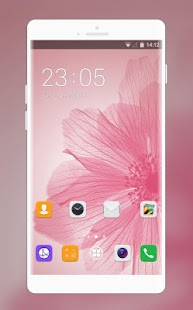 Theme for Huawei Nova Pink Petal Wallpaper - náhled