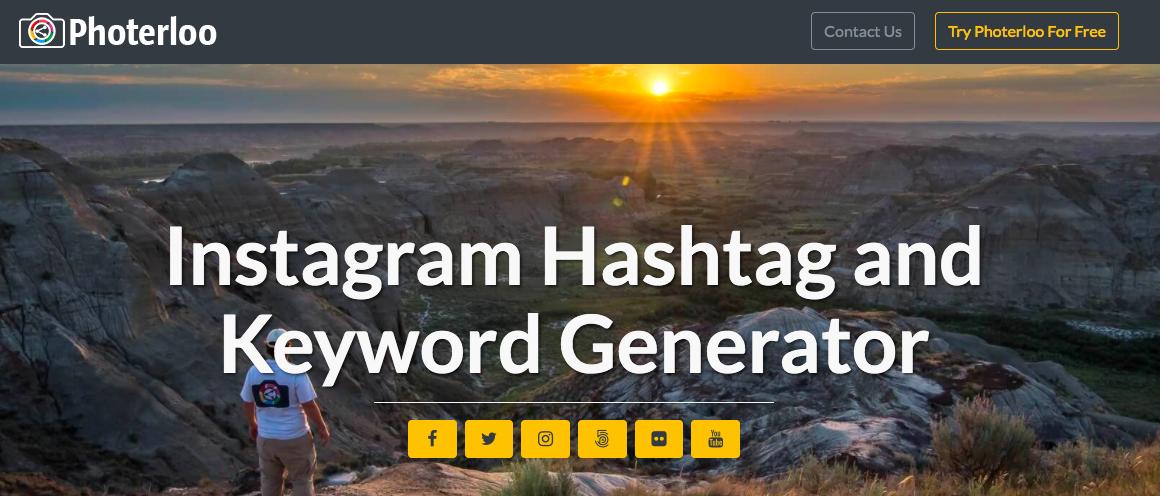 Photerloo Hashtag Generator Tool