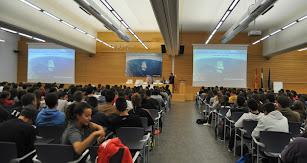Otras de las actividades financiadas por este proyecto fueron las charlas de Carlos Soria y Ramón Campayo.