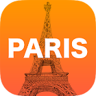 Paris City Map Guide Travel icon
