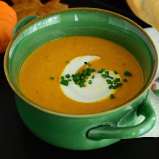 Roasted Fall Vegetable Soup Recipe